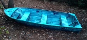 Boat in Allambie Heights Public Hall Playground
