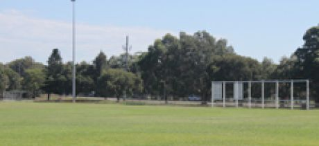 LM Graham Reserve sportsfield